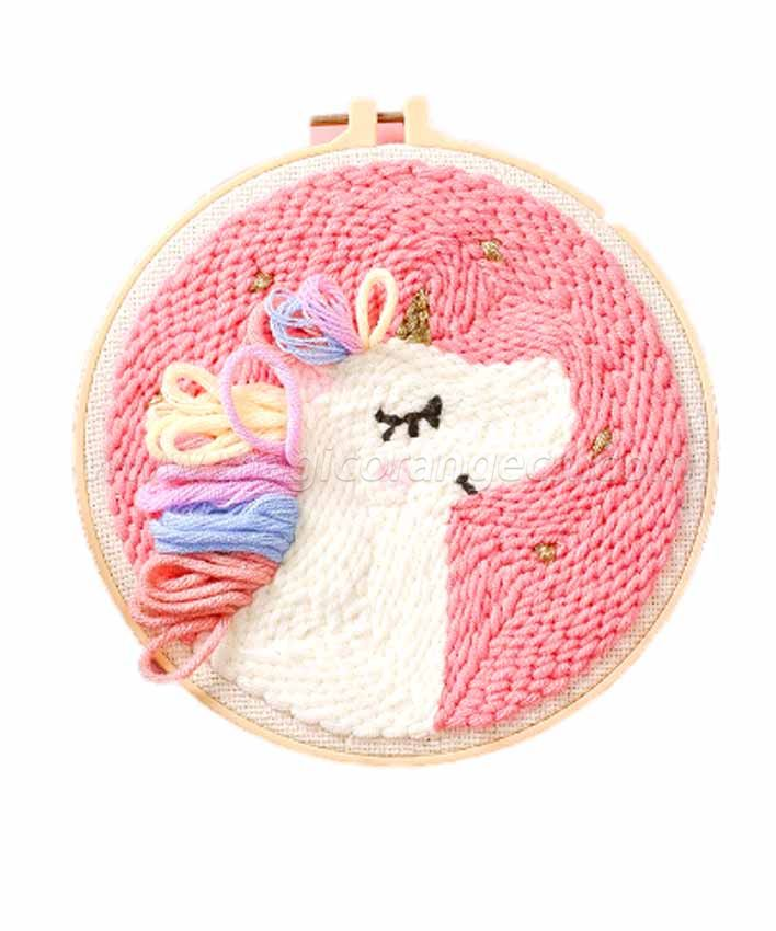 CTY100802 Unicorn Punch Needle Embroidery Starter Kit