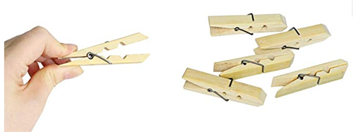 BBC1002 Bamboo Clothes 7.2cm Pegs